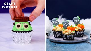 How To Make Hall๐ween Cupcakes