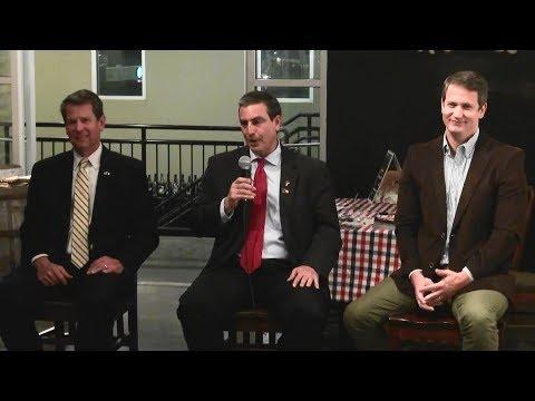 Atlanta Young Republicans GOP Gubernatorial Candidate Forum 03/28/18