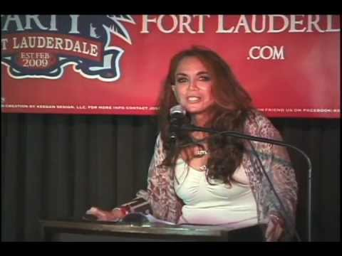 "Pamela Geller Speaks at Fort Lauderdale Tea: ""There is a War on the Truth"""