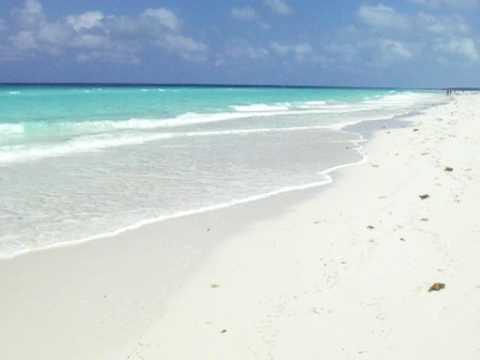 Playa Perla Blanca Cayo Santa Maria Cuba 2009 YouTube