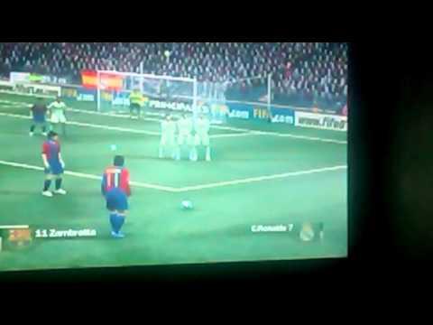 FIFA 07 - FC Barcelona (Cristian Sales) Vs Real Madrid CF (Yo) + PARODIA EXTRA