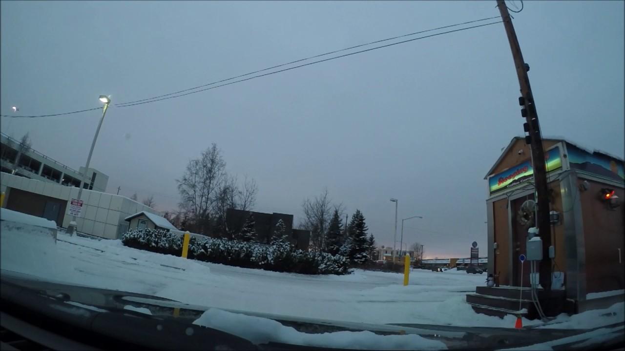 die Zeit in Anchorage Alaska