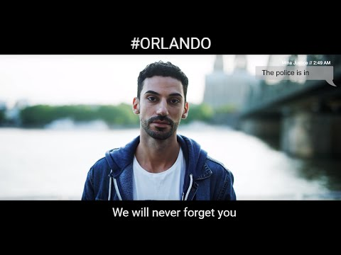#ORLANDO - We will never forget you