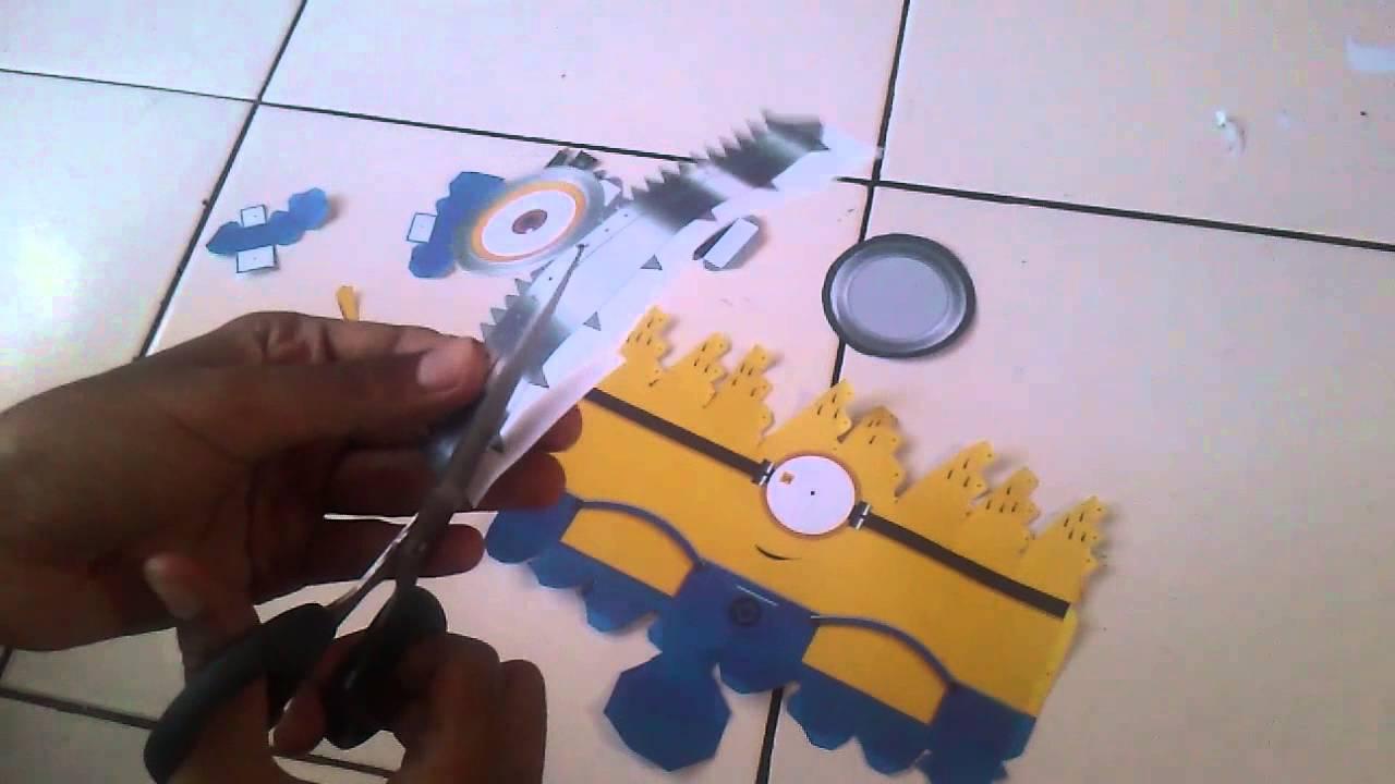Papercraft 23513031 - Rio Guntur U - Mari Membuat Papercraft!