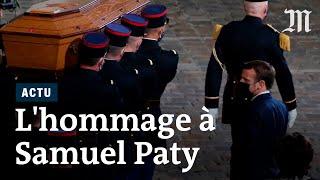 «Nous continuerons, professeur » : l'hommage national à Samuel Paty