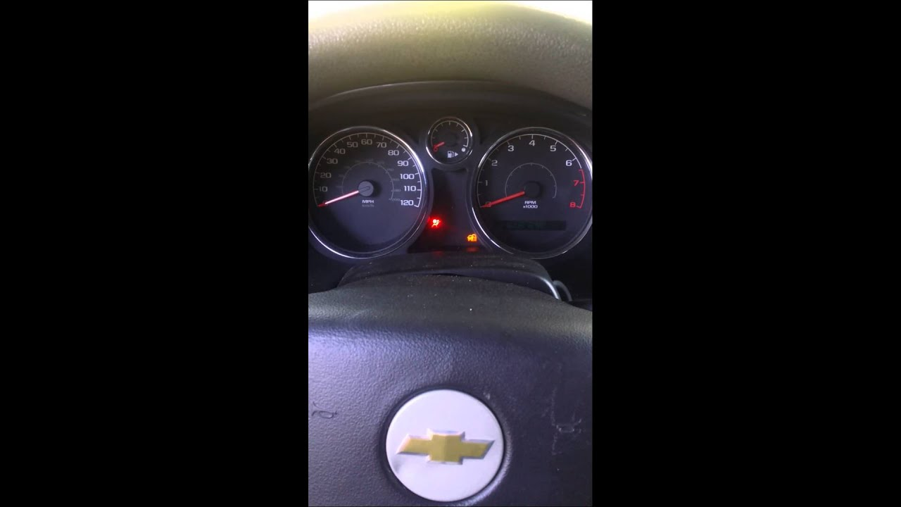 2006 Cobalt Security Light Problem Youtube