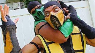 Scorpion & Reptile Make Tacos!! (Cooking With Scorpion) Mortal Kombat