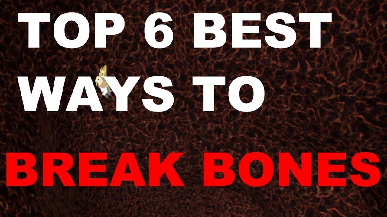 TOP 6 BEST WAYS TO BREAK BONES ON BROKEN BONES 4 | ROBLOX Broken Bones IV