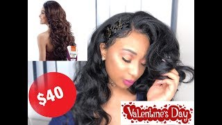 $40 Valentines Day Model Shakira Wig | 4 quick hairstyles| HIGHLY REQUESTED