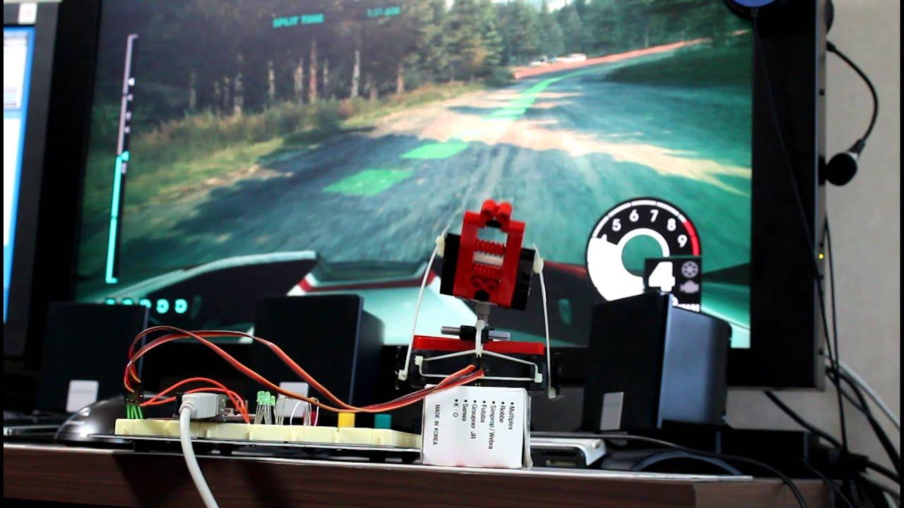 Dof arduino lego motion simulator dirt youtube