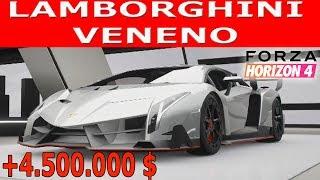 Lamborghini Veneno Forza Horizon 4 Tune