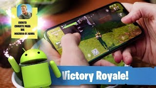 NEW FORTNITE FOR ANDROID and iOS PHONES | HOW TO DOWNLOAD