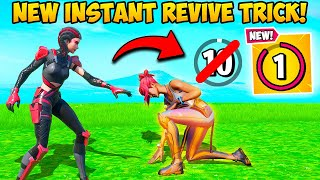 *SUPER BROKEN* 1 SECOND REVIVE TRICK!! - Fortnite Funny Fails and WTF Moments! #968