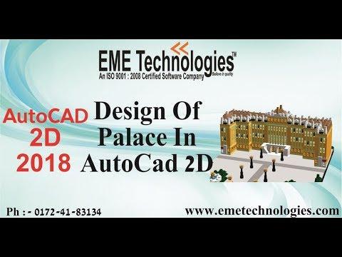 DESIGN OF PALACE Part 1   AutoCad 2D