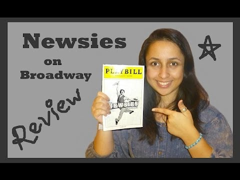 Newsies on Broadway - Review