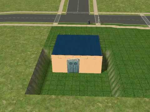 Walk Out Basement On The Sims 2, How To Build A Walkout Basement Sims 4