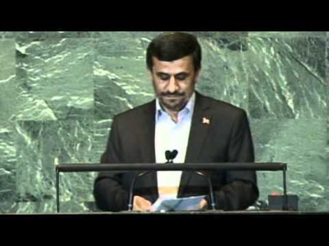 Mahmoud Ahmadinejad speech sparks UN walkout