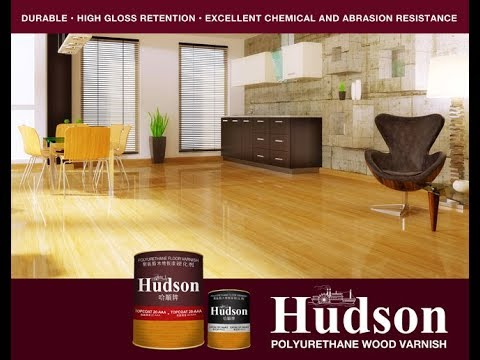 Hudson Polyurethane Floor Varnish