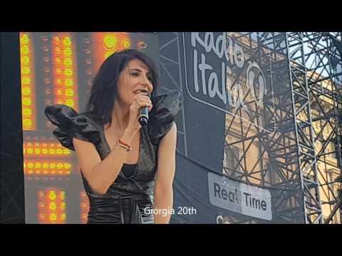 """Giorgia """"Credo"""" - Radio Italia il concerto 18 giugno 2017 (riprese del Giorgia 20th)"""
