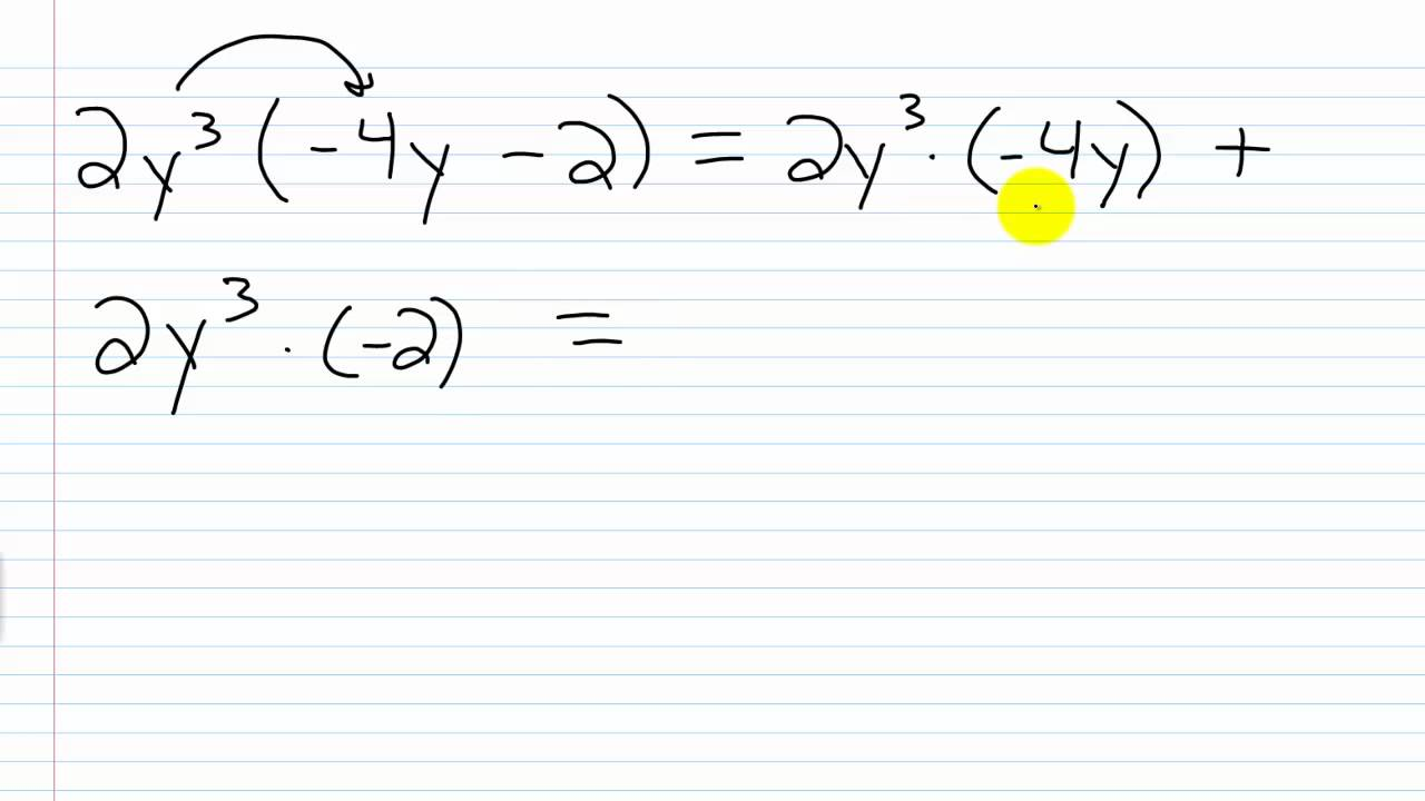 Multiplying Polynomials Examples 1 2 Lessons Tes Teach