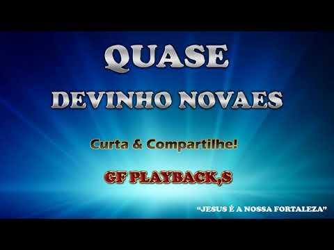 QUASE - PLAYBACK DEVINHO NOVAES