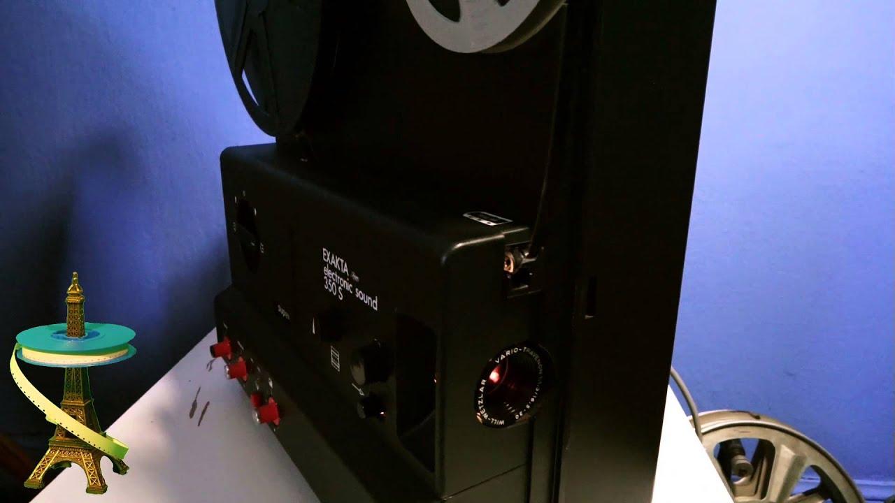 projecteur super 8 sonore exakta 350s projector s8 sound youtube. Black Bedroom Furniture Sets. Home Design Ideas