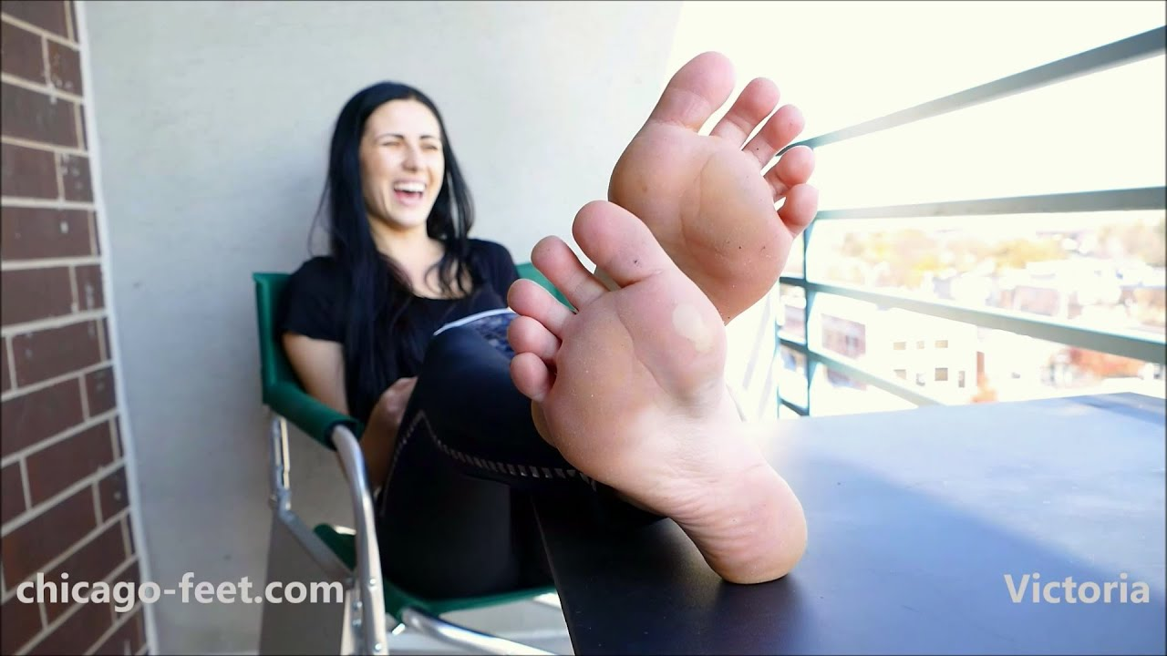 Fantastic Four Footjob Porn - Chicago Feet presents Victoria's deep arches closeup promo sample