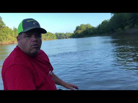 Catfishing On The Neches River