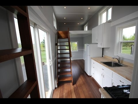 Take a Video Tour of THE EVEREST TINY HOUSE in Illinois YouTube