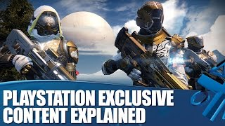 Destiny on PS4 - All The PlayStation Exclusive Content Detailed