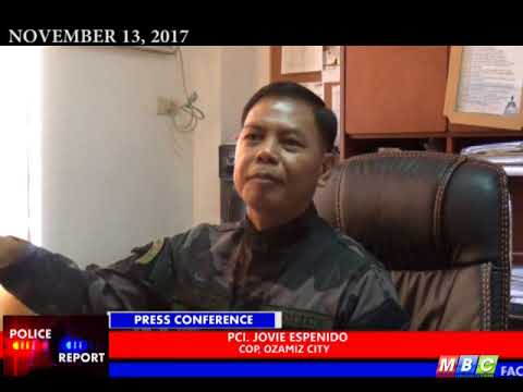 MBC OZAMIZ Press Conference with PCI JOvie Espenido Nov 13,2017