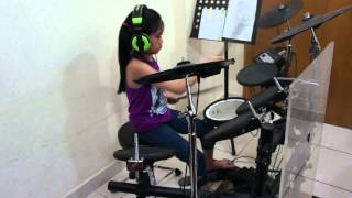 Set Fire To The Rain-(Adele) Drums Cover by Chynna Marie Castillo
