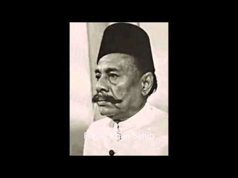 Faiyaz Khan  Rag Puria