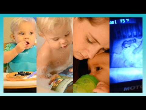 BEDTIME ROUTINE! | Look Who's Vlogging: Daily Bumps