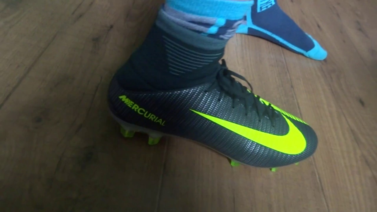 14c6d5825f8d Unboxing Mercurial Veloce III DF CR7 FG Grau-Gel - YouTube