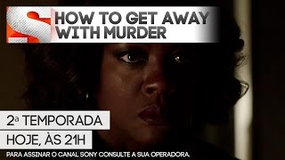 Canal Sony   How To Get Away With Murder - Episódio Inédito - Hoje, às 21h
