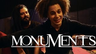 Interview MONUMENTS, Chris Barretto & Adam Swan, Damage Festival 2014, Cabaret Sauvage