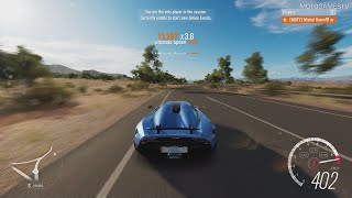 Forza Horizon 3 [XOne] - Koenigsegg Regera Speed Test