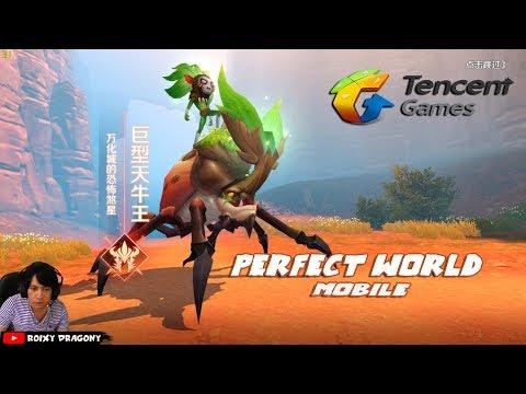 Gilaa Grafiknya - PERFECT WORLD MOBILE !!! Game Baru TENCENT Games