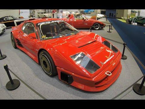 FERRARI 365 BB KOENIG SPECIALS ! CLASSIC RACING CAR 1974 ! RED COLOUR ! WALKAROUND !