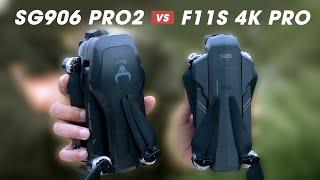 LKRC - So Sánh Flycam F11 4K vs SG906 Pro 2