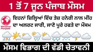 Punjab Weather Today | Punjab Weather | Punjab Weather Tomorrow | Weather Info Punjab