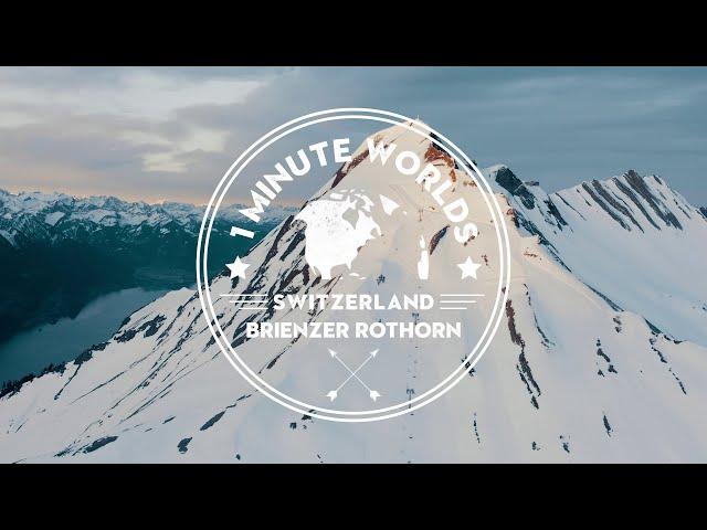 SWITSERLAND 🌏 BRIENZER ROTHORN