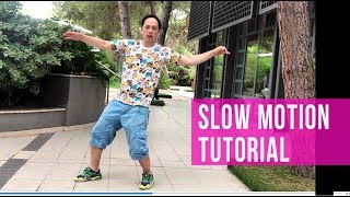 SLOW MOTION TUTOTIAL: 5 LEVELS OF THE DANCE SKILLS | popping dance | robot dance
