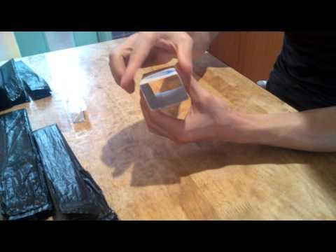 비닐봉투 간단 정리법