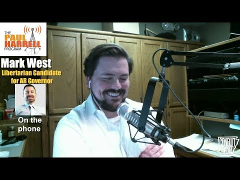 Mark West, Libertarian Candidate for Arkansas Governor 6/29/17