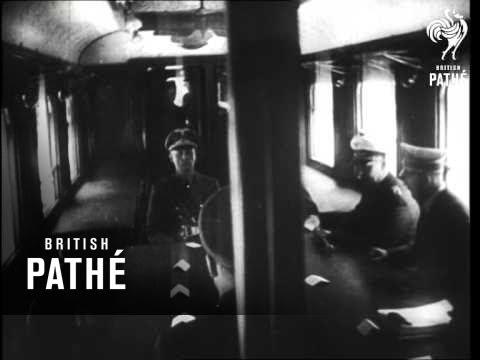 Franco-German Armistice: Hitler (1940)