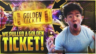 WE PULLED A GOLDEN TICKET! RAREST IN THE GAME! Madden 18 Ultimate Team