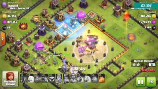 How to 3 star th11 with baby dragon ( th11 new strategy) || Clash of Clan ||