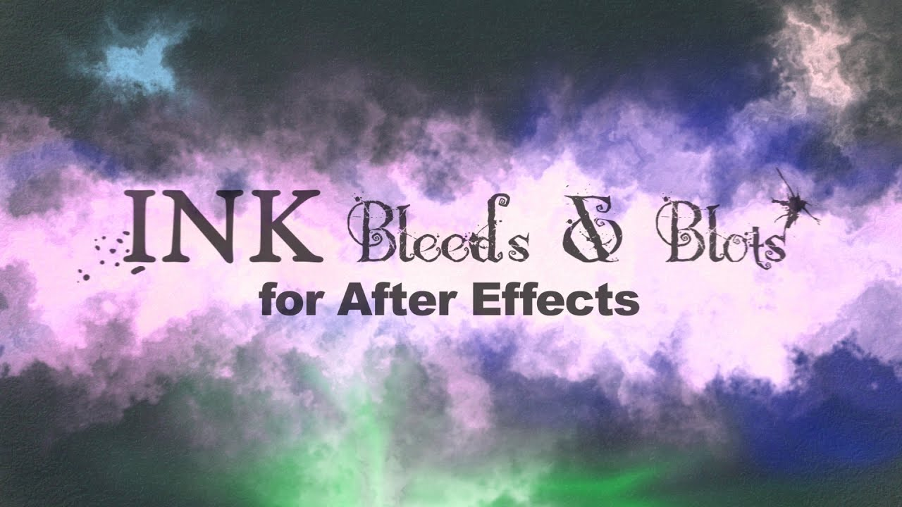 Ink Bleeds & Blots by Creation Effects